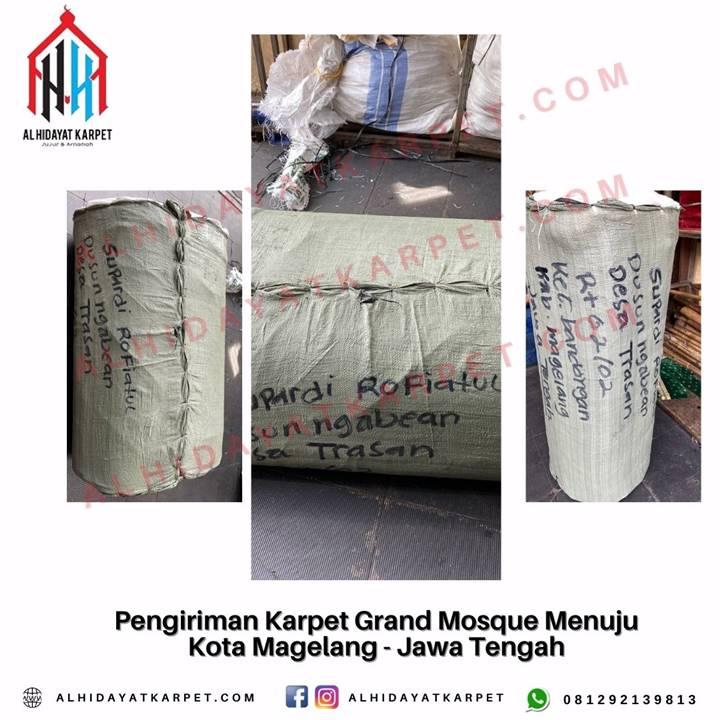 Pengiriman Karpet Grand Mosque Menuju Kota Magelang - Jawa Tengah
