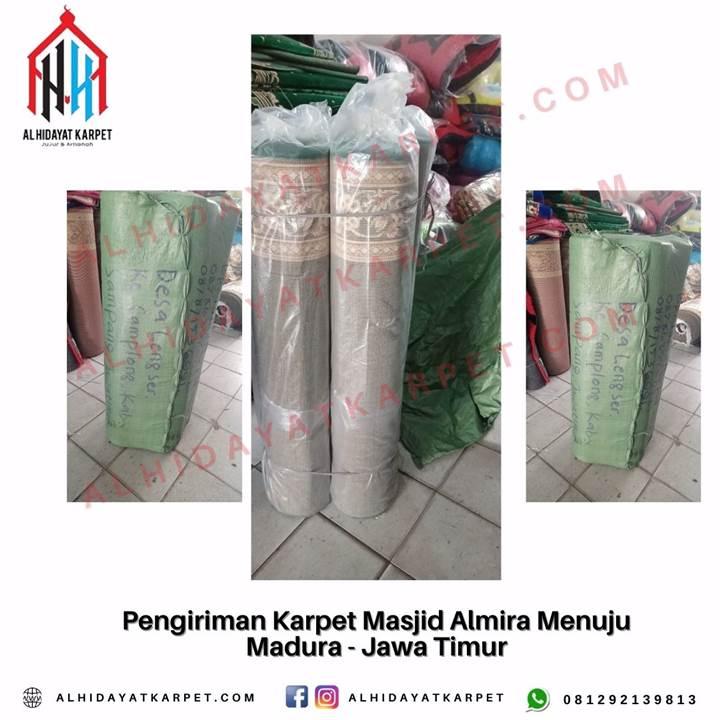 Pengiriman Karpet Masjid Almira Menuju Madura - Jawa Timur