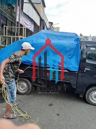 pengiriman karpet masjid grand mosque ke Bandung