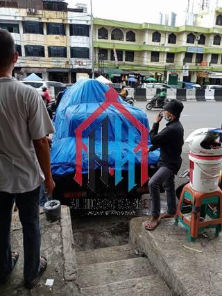 pengiriman karpet masjid grand mosque ke Bandung4