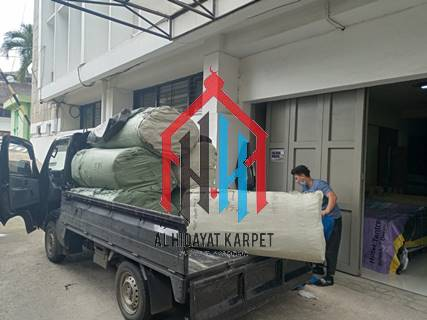 pengiriman karpet masjid grand mosque ke Bandung5