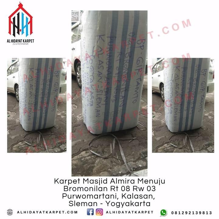 Pengiriman Karpet Masjid Almira Menuju Bromonilan Rt 08 Rw 03 Purwomartani, Kalasan, Sleman - Yogyakarta