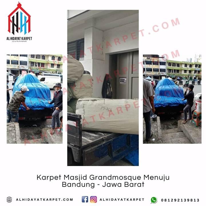 Pengiriman Karpet Masjid Grandmosque Menuju Bandung Jawa Barat