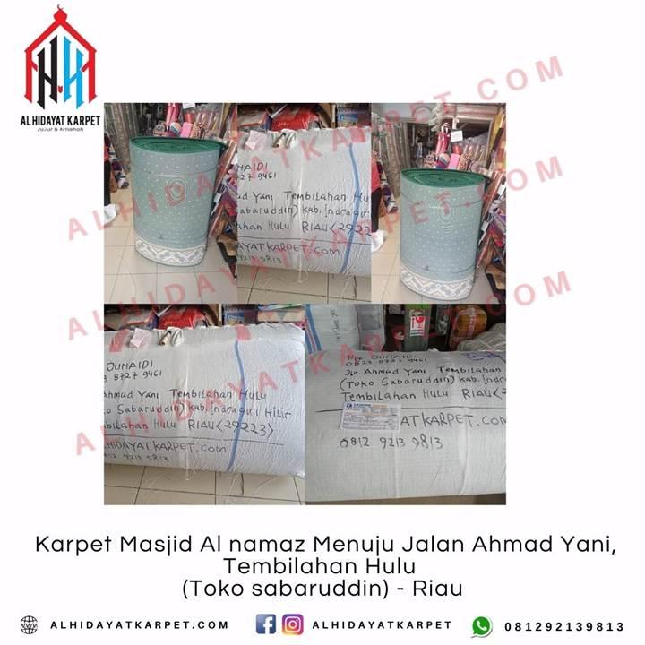 Pengiriman Karpet Masjid Al namaz Menuju Jalan Ahmad Yani, Tembilahan Hulu (Toko sabaruddin) - Riau
