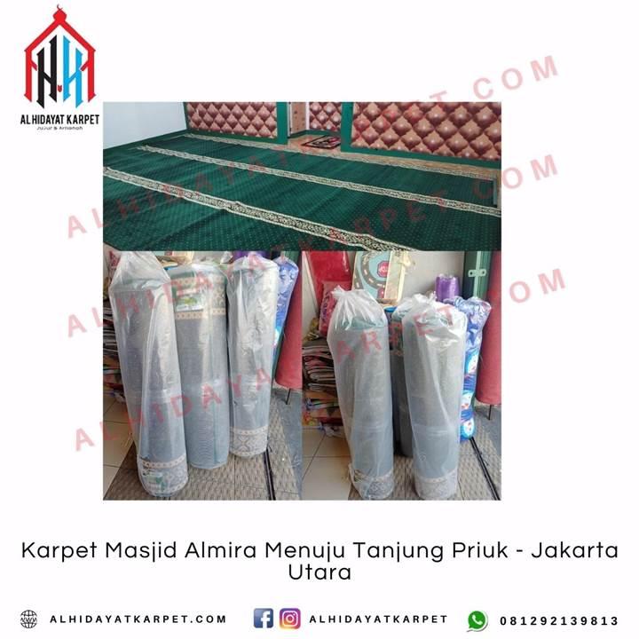 Pengiriman Karpet Masjid Almira Menuju Tanjung Priuk - Jakarta Utara