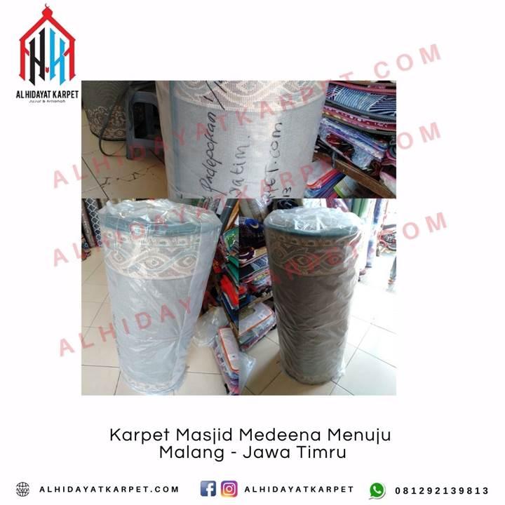 Pengiriman Karpet Masjid Medeena Menuju Malang - Jawa Timru