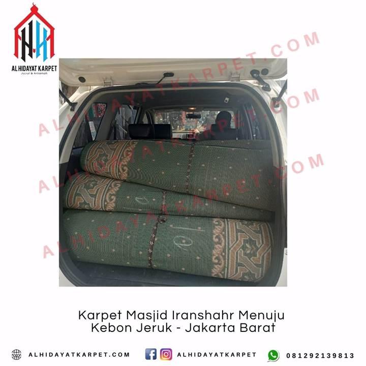 pengiriman Karpet Masjid Iranshahr Menuju Kebon Jeruk - Jakarta Barat